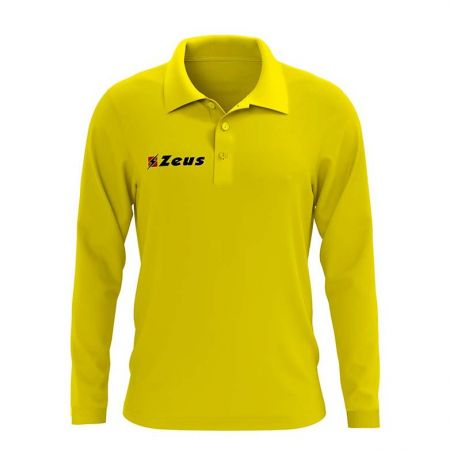 Мъжка Блуза ZEUS Polo Basic ML Giallo 506680 Polo Basic ML
