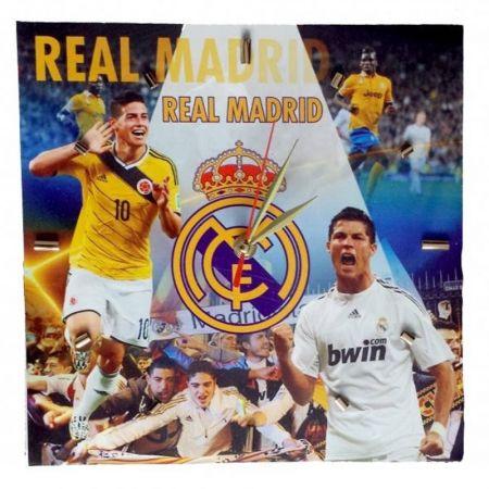 Стенен Часовник REAL MADRID Ronaldo and James PKS 500838a