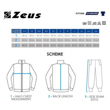 Мъжки Анцуг ZEUS Tuta Clio Blu/Bianco 506598 Tuta Clio изображение 5