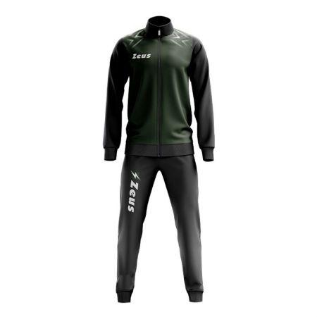 Мъжки Анцуг ZEUS Tuta Easy Nero/Verde Militare 519739 Tuta Easy