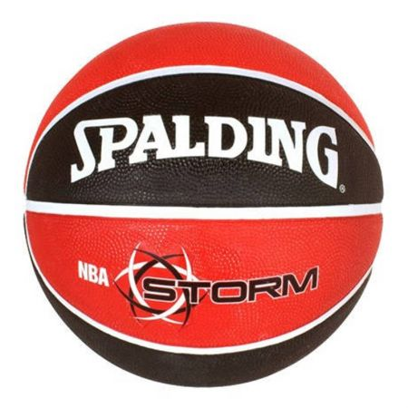 Баскетболна Топка SPALDING NBA Storm Color Rubber Basketball 400967