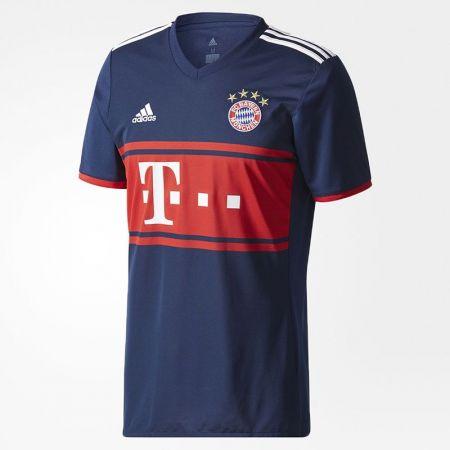 Официална Фланелка Байерн Мюнхен BAYERN MUNICH Mens Away Shirt 17-18 511010