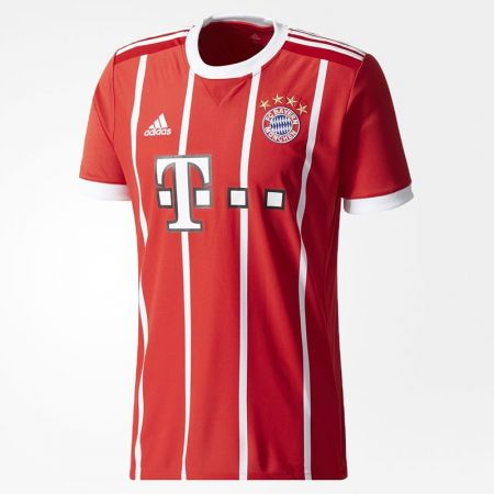 Официална Фланелка Байерн Мюнхен BAYERN MUNICH Mens Home Shirt 17-18 510999