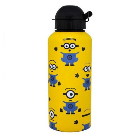 Бутилка DESPICABLE ME Multi Face Aluminium Water Bottle 501333 10451