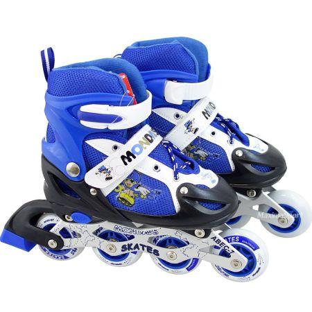 Детски Регулируеми Ролери MAXIMA Adjustable Rollers 34-37 509473 200103 -Blue