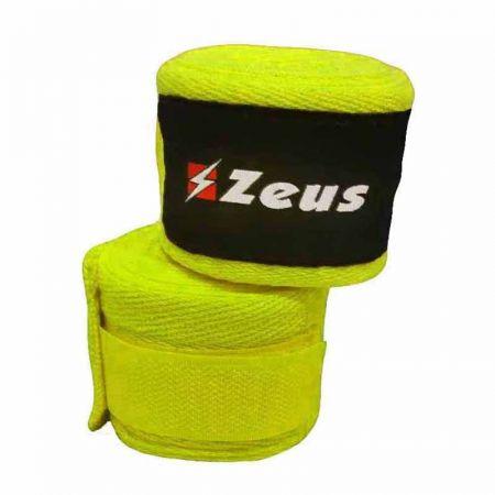 Бинтове За Бокс  ZEUS Bendaggio 3.5m Giallo Fluo 519841 Bendaggio