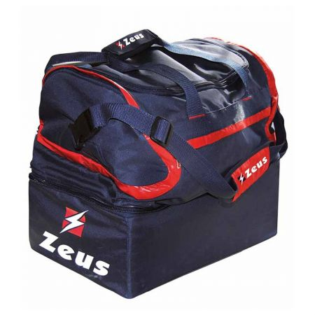 Сак ZEUS Borsa Fauno Medium 48x25x44 cm Blu/Rosso 509508 Borsa Fauno Medium