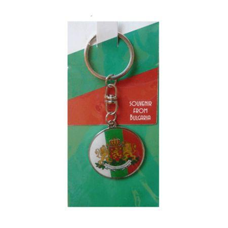Ключодържател BULGARIA Metal Key Chain Ring 500133
