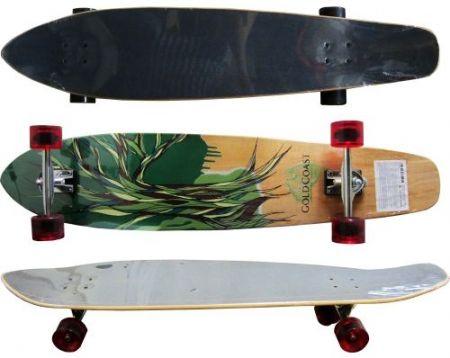 Лонгборд MAXIMA Longboard 120х24 Cm 502584 200158 изображение 2