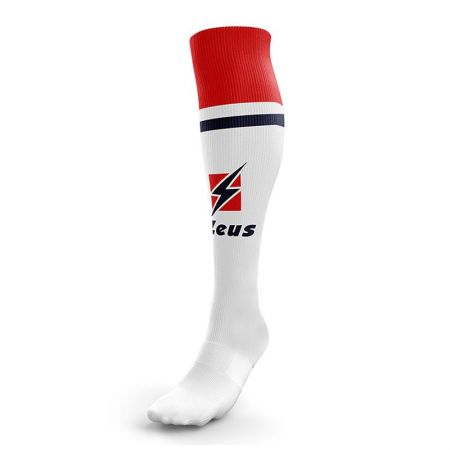 Калци ZEUS Calza United Bianco/Rosso 507314 Calza United