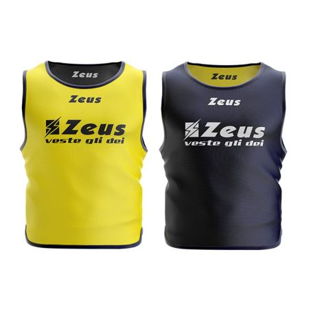 Тренировъчен Потник ZEUS Reversible Casacca Giano Blu/Giallo 506449 Casacca Giano