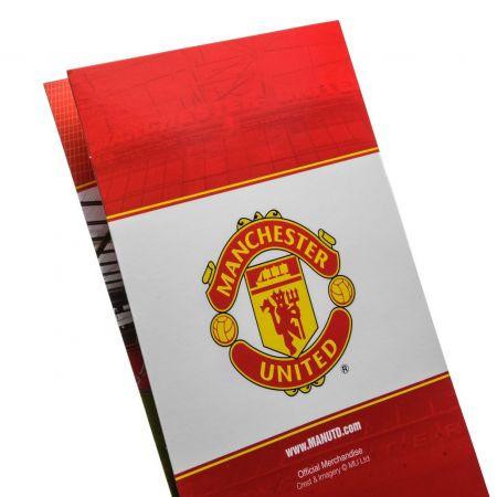 Картичка MANCHESTER UNITED Birthday Card 500739b w10carmu-z01carmu изображение 5