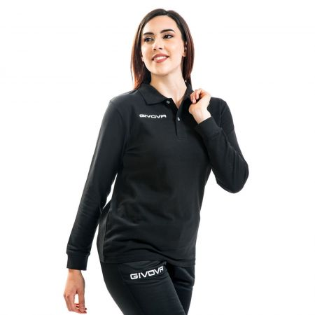 Дамска Блуза GIVOVA Polo Winter 0010 517350 MA004