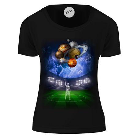 Дамска Тениска 2o7o10v Your Sport Language 518455 T2707_D