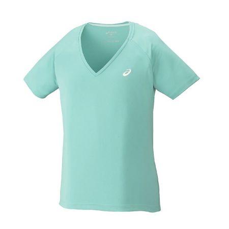 Дамска Тениска ASICS Club V-Neck Top 519896 130250-8136