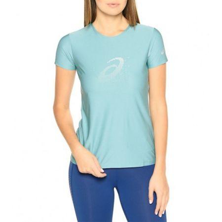 Дамска Тениска ASICS Graphic SS Top Kingfisher 520259 134105-8148