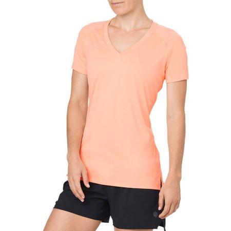 Дамска Тениска ASICS V-Neck SS Top 520131 154543-0398