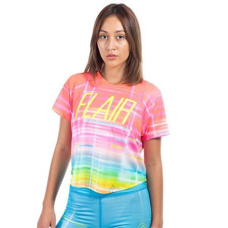 Дамска Тениска FLAIR Rainbow T-shirt 517586 275055