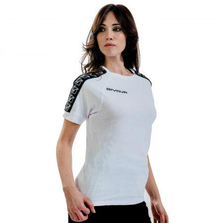 Дамска Тениска GIVOVA T-Shirt Cotton Band 0003 517329 BA01