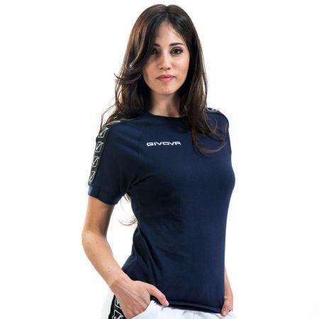 Дамска Тениска GIVOVA T-Shirt Cotton Band 0004 517330 BA01