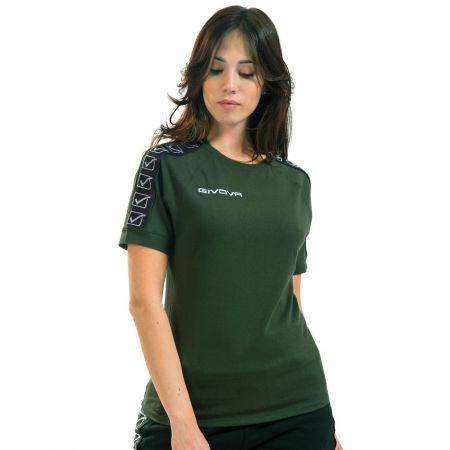 Дамска Тениска GIVOVA T-Shirt Cotton Band 0051 517328 BA01