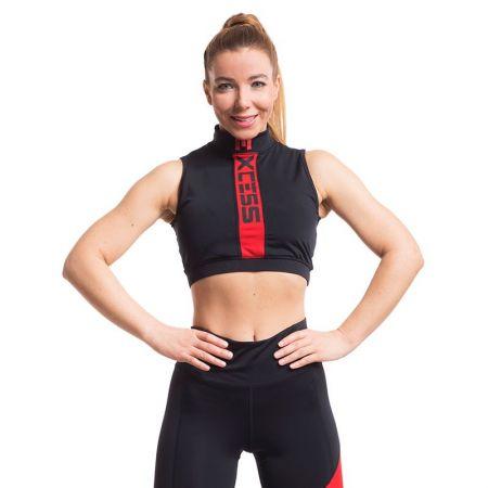 Дамско Бюстие EXCESSWEAR Sports Bra Energy Red 518521