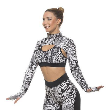 Спортни Ръкави EXCESSWEAR Zebra 517275