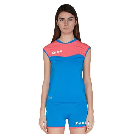 Волейболен Екип ZEUS Kit Volley Sara Slim Fit Light Royal/Pink fluo 509706 Kit Volley Sara