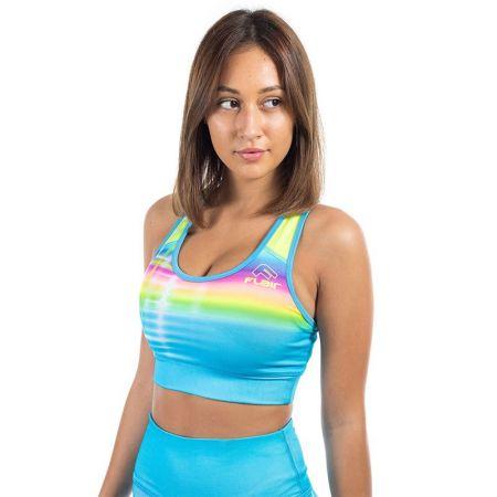 Дамско Бюстие FLAIR Rainbow Sports Bra 517593 245034