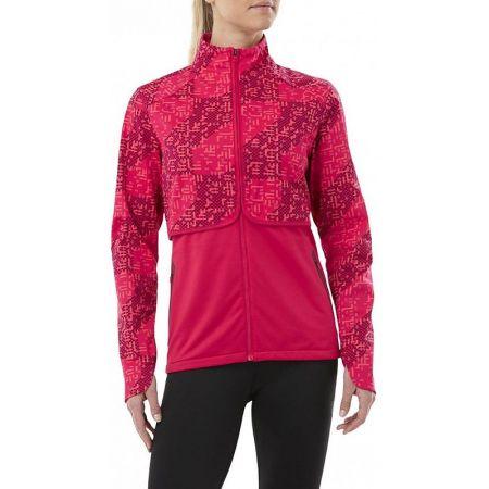 Дамско Яке ASICS Lite-Show Winter Jacket Lite Stripe 519939 146630-1180