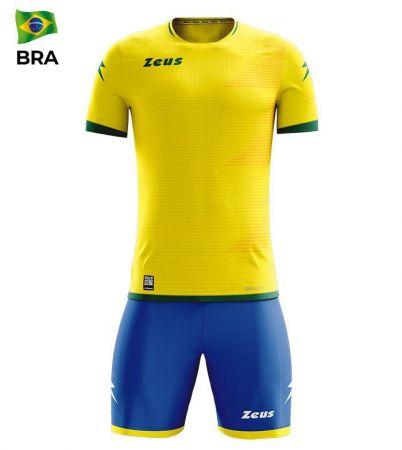 Детски Спортен Екип ZEUS Kit Mundial BRA Giallo/Verde 520169 KIT MUNDIAL