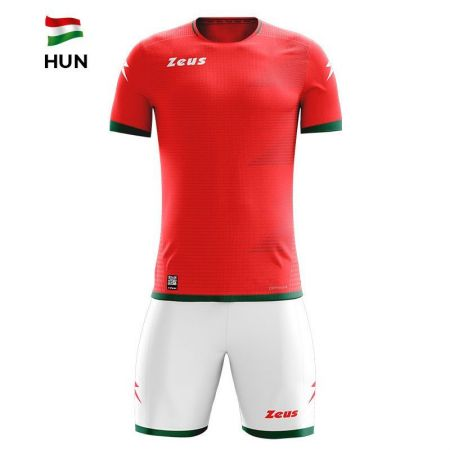 Детски Спортен Екип ZEUS Kit Mundial HUN Rosso/Bianco 520167 KIT MUNDIAL