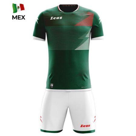 Детски Спортен Екип ZEUS Kit Mundial MEX Verde/Bianco 520175 KIT MUNDIAL