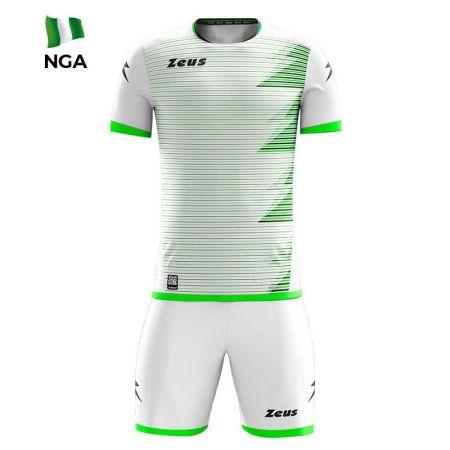 Детски Спортен Екип ZEUS Kit Mundial NGA Bianco/Verde 520163 KIT MUNDIAL