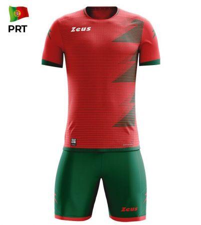 Детски Спортен Екип ZEUS Kit Mundial PRT Rosso/Verde 520172 KIT MUNDIAL