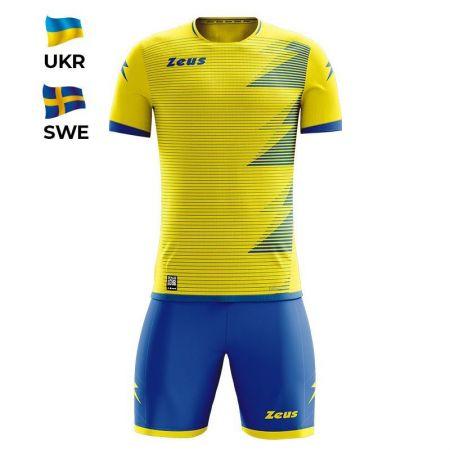Детски Спортен Екип ZEUS Kit Mundial UKR Giallo/Royal 520166 KIT MUNDIAL