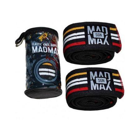 Еластичен Бинт За Коляно MAD MAX Knee Bandages 402003