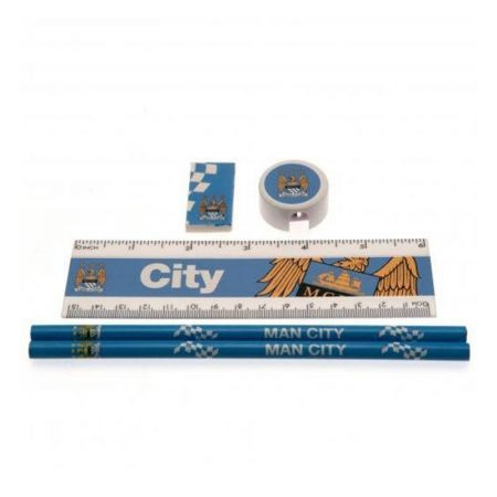 Ученически Пособия MANCHESTER CITY Core Stationery Set 501090
