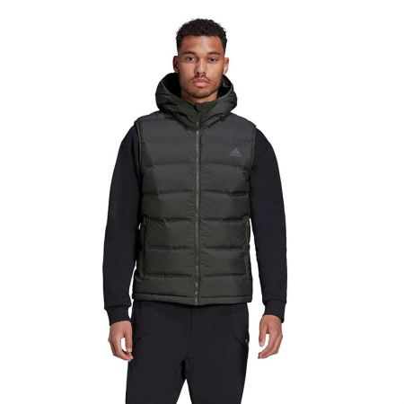 Мъжки Елек ADIDAS Helionic Down Hooded Vest 518656 GD4729-K