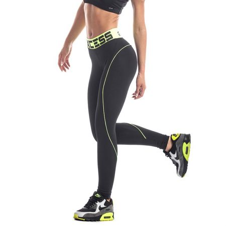 Дамски Клин EX FIT Legging Black&Neon Line 511902
