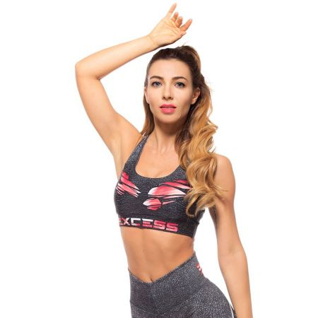 Дамско Бюстие EX FIT Sports Bra Red Muscle 512144