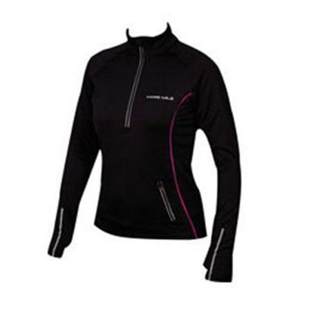 Дамски Суичър MORE MILE Vancouver Thermal Hi-Viz Ladies Running Top 508701 MM1323