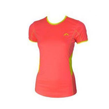 Дамска Тениска MORE MILE Short Sleeve Ladies Running Top 508675