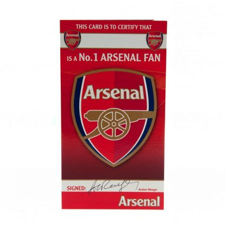 Картичка ARSENAL Birthday Card No 1 Fan
