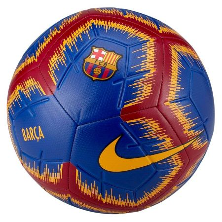 Футболна Топка NIKE FC Barcelona Strike Football 517407 SC3365-455-K