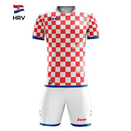 Спортен Екип ZEUS Kit Mundial HRV Bianco/Rosso 513374 KIT MUNDIAL
