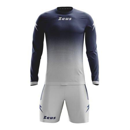 Детски Футболен Екип ZEUS Kit Eros Blu/Argento 505908 Kit Eros