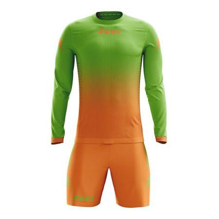 Детски Футболен Екип ZEUS Kit Eros Verde/Arancio 505909 Kit Eros