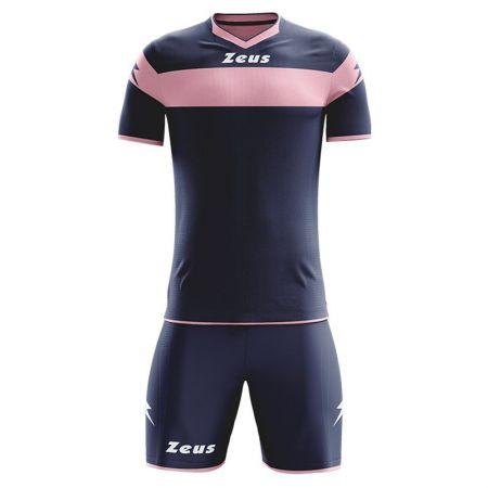 Детски Футболен Екип ZEUS Kit Apollo Blu/Rosa 505585 Kit Apollo