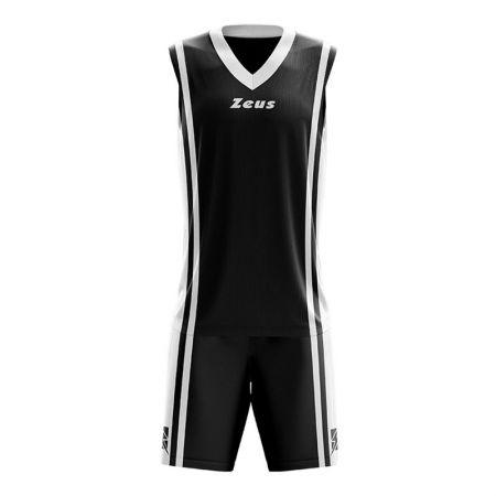 Детски Баскетболен Екип ZEUS Kit Bozo Nero/Bianco 506180 Kit Bozo